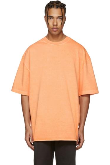 YEEZY Season 3 - Orange Heavy Knit T-Shirt