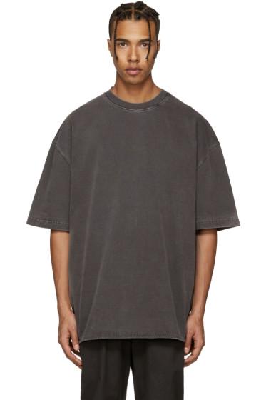YEEZY Season 3 - Grey Heavy Knit T-Shirt