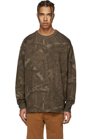 YEEZY Season 3 - Brown Camo Thermal Pullover