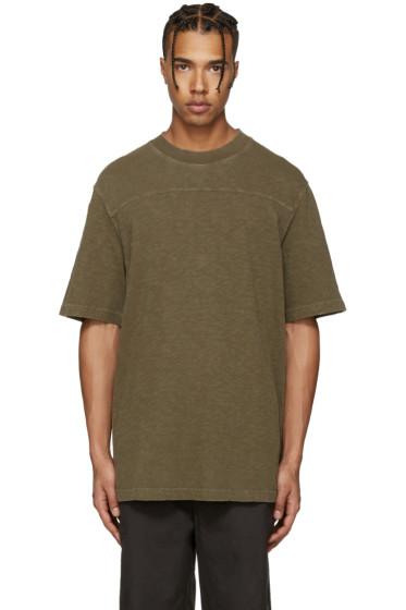 YEEZY Season 3 - Green College Slub Knit T-Shirt