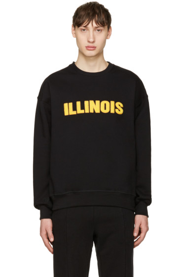 Richardson - Black Illinois Pullover