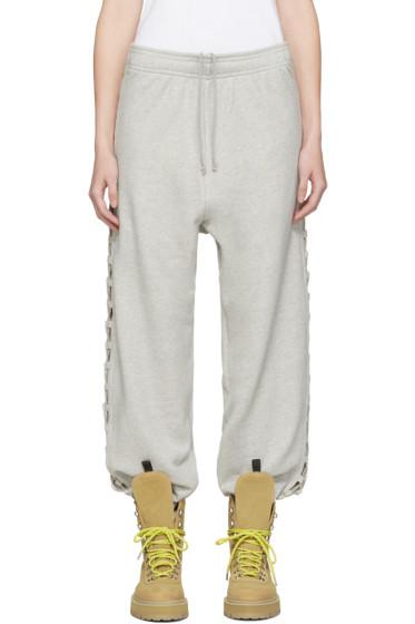 Matthew Adams Dolan - Grey Laced Lounge Pants
