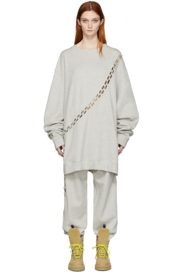 Matthew Adams Dolan - Grey Laced Pullover