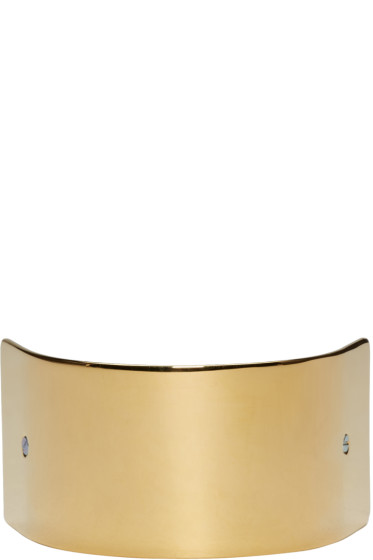 Sylvain Le Hen - Gold Wide Half Circle 047 Barrette