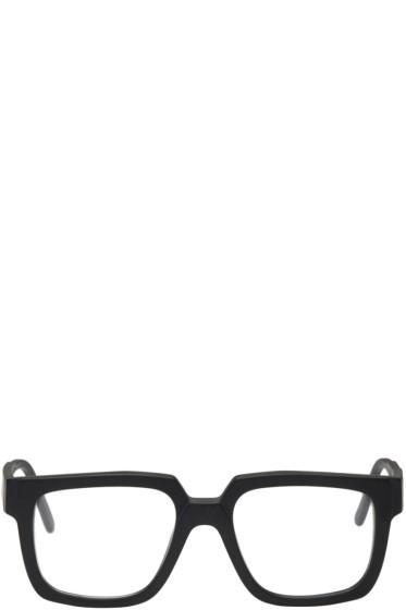 Kuboraum - Black Maske K3 Glasses