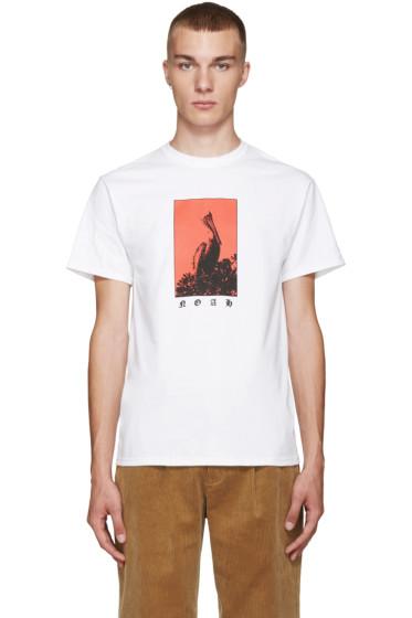 Noah - White Angry Pelican T-Shirt