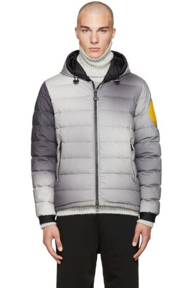 Moncler O - Grey Down Ombre Dinard Jacket