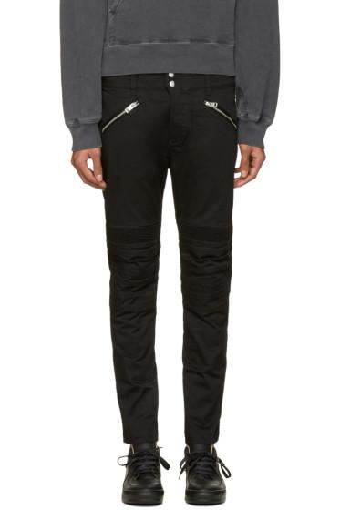 Diesel - Black P-Ray Zip Trousers