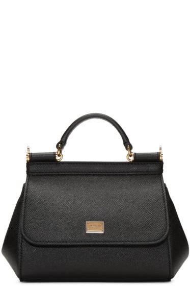 Dolce & Gabbana - Black Mini Miss Sicily Bag