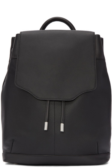 Rag & Bone - Black Leather Pilot Backpack