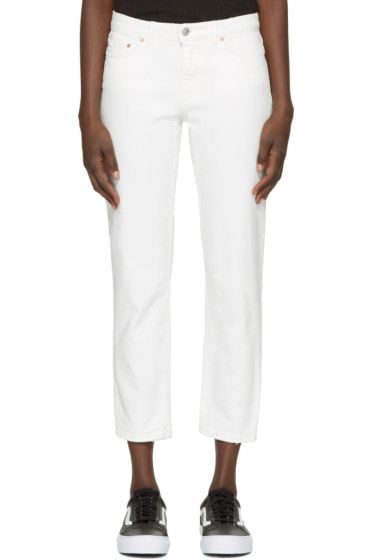 Acne Studios - White Row Jeans