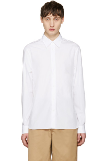 Acne Studios - White Glasgow Pop Shirt