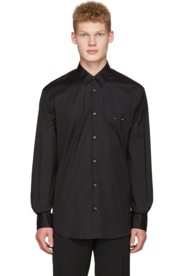 Dsquared2 - Black Nipple Piercing Shirt