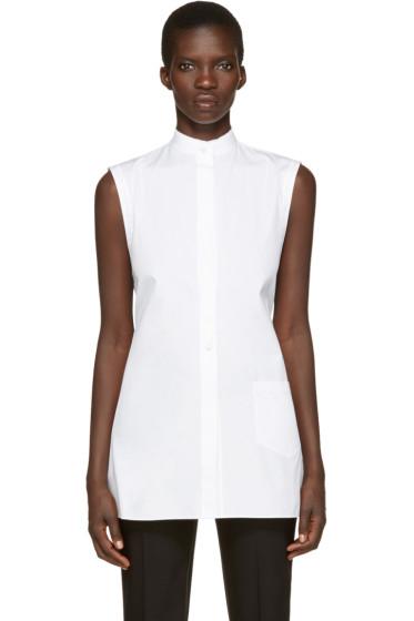 Helmut Lang - White Apron Shirt