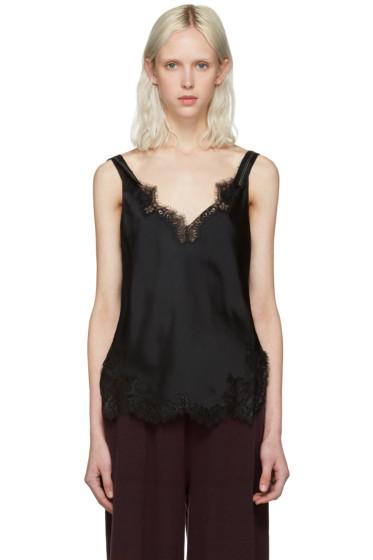 Helmut Lang - Black Lace Slip Top