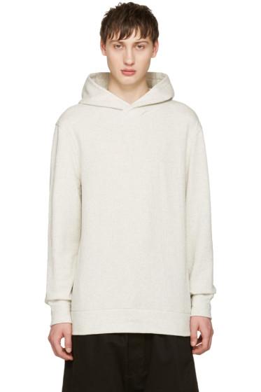 Helmut Lang - Grey Pullover Hoodie