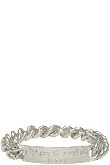 Maison Margiela - Silver Logo ID Bracelet