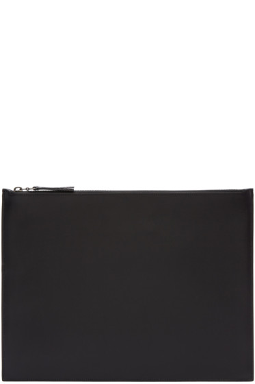 Maison Margiela - Black Classic Leather Pouch