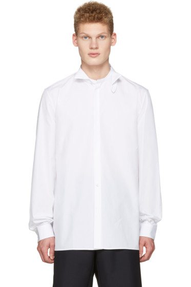Maison Margiela - White Detachable Collar Shirt