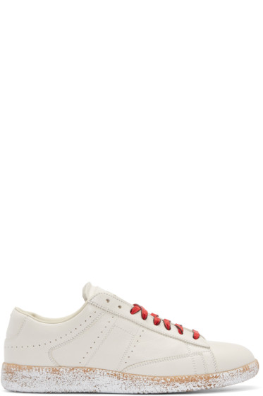 Maison Margiela - Off-White Ace Sneakers