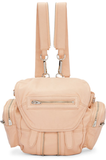 Alexander Wang - Pink Mini Marti Backpack