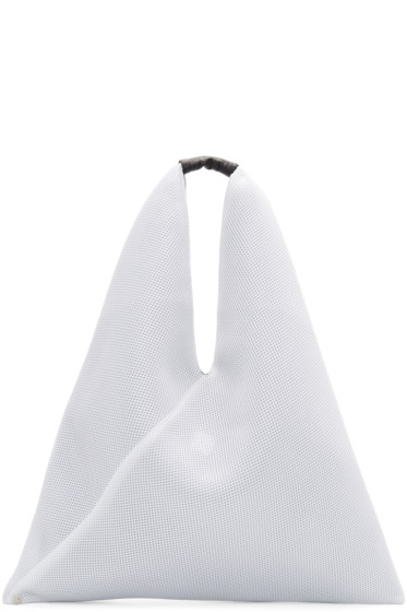 MM6 Maison Margiela - White Net Mesh Tote