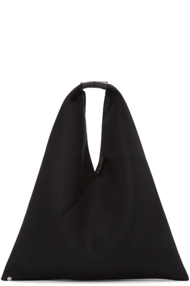 MM6 Maison Margiela - Black Net Mesh Tote