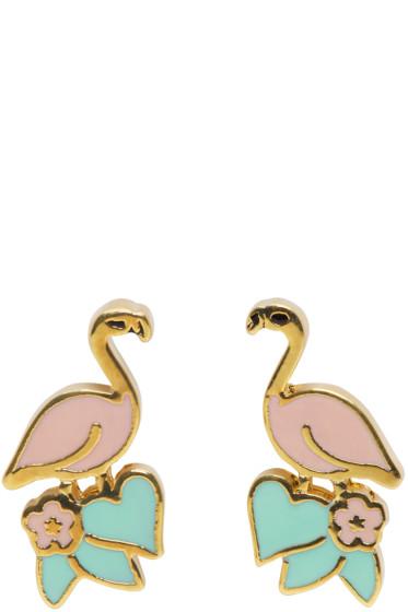 Marc Jacobs - Pink Flamingo Earrings