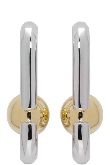 Marc Jacobs - Silver Icon Statement Earrings