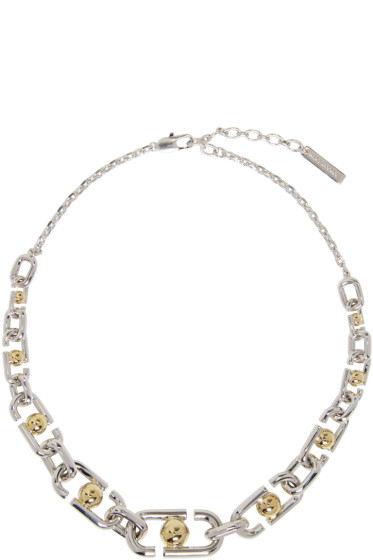Marc Jacobs - Silver Icon Necklace