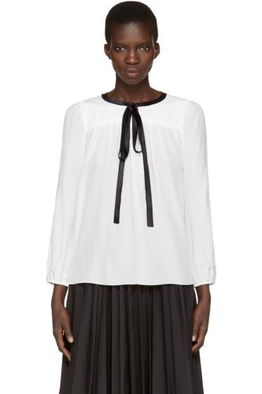 Marc Jacobs - White Silk Blouse