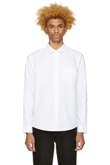 A.P.C. - White Milan Shirt