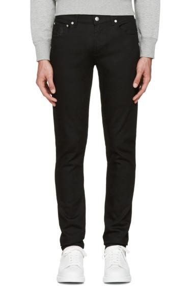 Alexander McQueen - Black Classic Skull Jeans