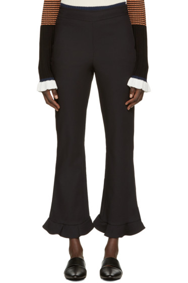 Opening Ceremony - Black William Circle Hem Trousers