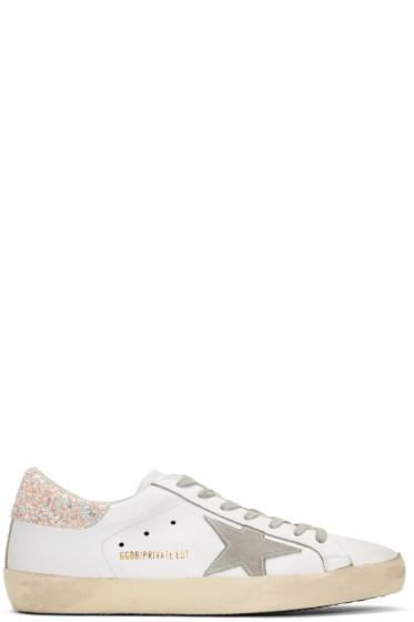 Golden Goose - SSENSE Exclusive White Superstar Sneakers