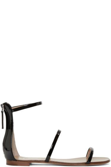 Giuseppe Zanotti - Black Gladiator Harmony Sandals