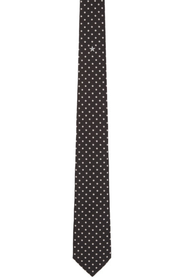 Givenchy - Black & White Stars Tie
