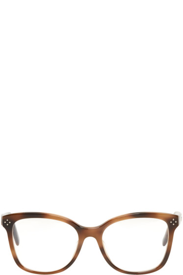 Chloé - Tortoiseshell Rectangular Glasses