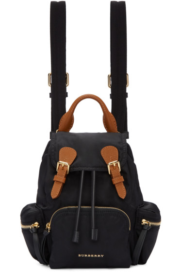 Burberry - Black Small Rucksack