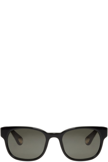 Ann Demeulemeester - Black Square Sunglasses