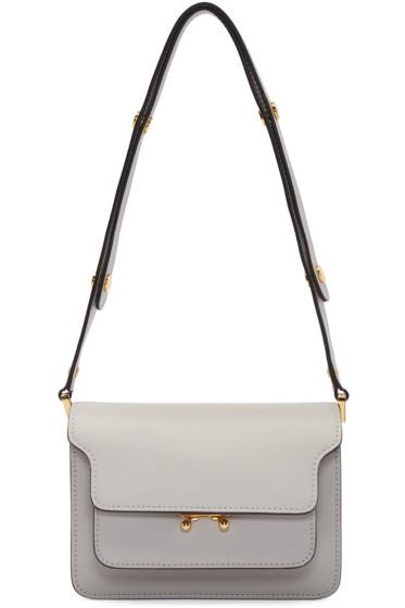 Marni - Grey Small Trunk Bag