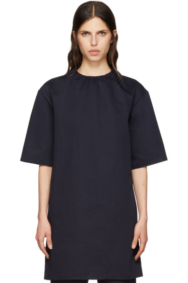 Marni - Navy Twill Dress