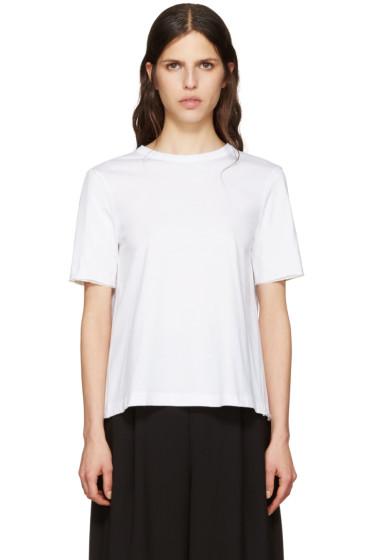 Marni - White Tie Back T-Shirt