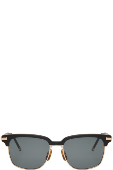 Thom Browne - Black TB 713 Sunglasses