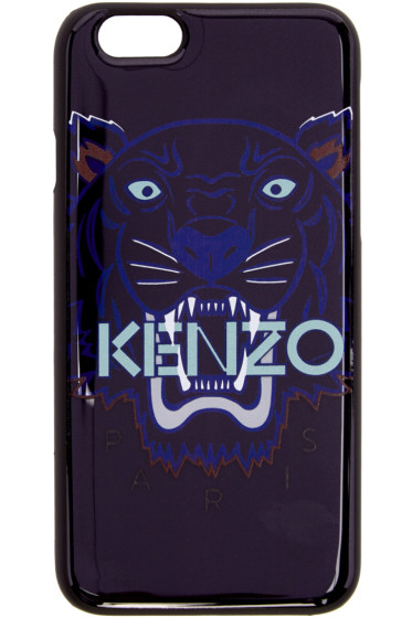 Kenzo - Blue Tiger iPhone 6 Case