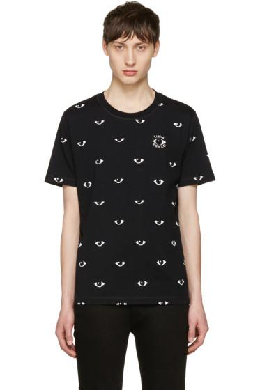Kenzo - Black All-Over Eye T-Shirt