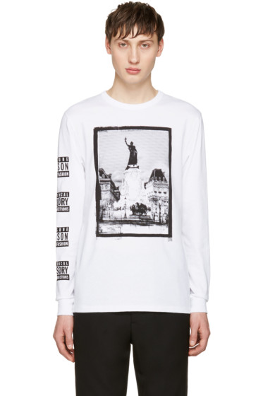 Maison Kitsuné - SSENSE Exclusive White Malson 18 Edition T-Shirt