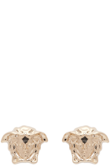 Versace - Gold Small Medusa Earrings