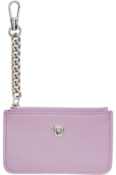 Versace - Pink Small Medusa Coin Pouch
