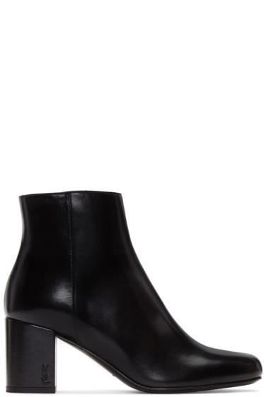Saint Laurent - Black Babies Boots